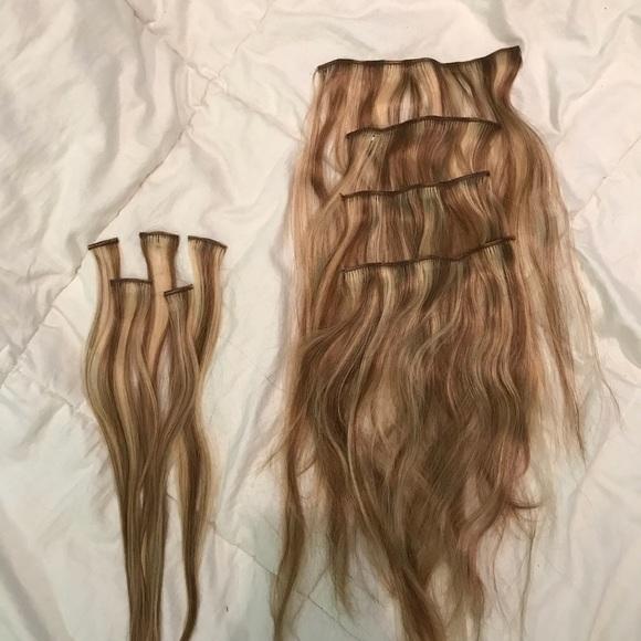 Euronext Accessories Dark Blonde Frost Hair Extensions Poshmark